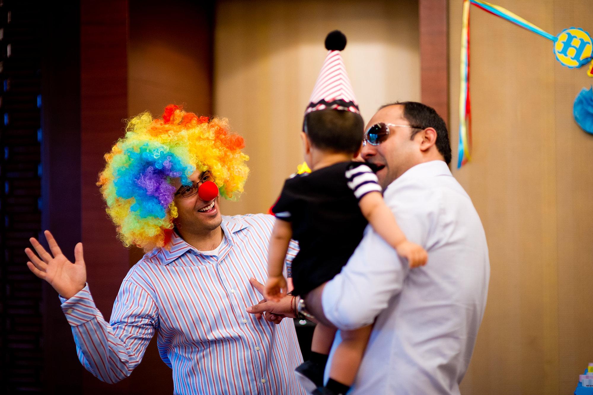 Dhev's 1st Birthday Party at Shangri-La Hotel in Bangkok Thailand   Bangkok Photography Service