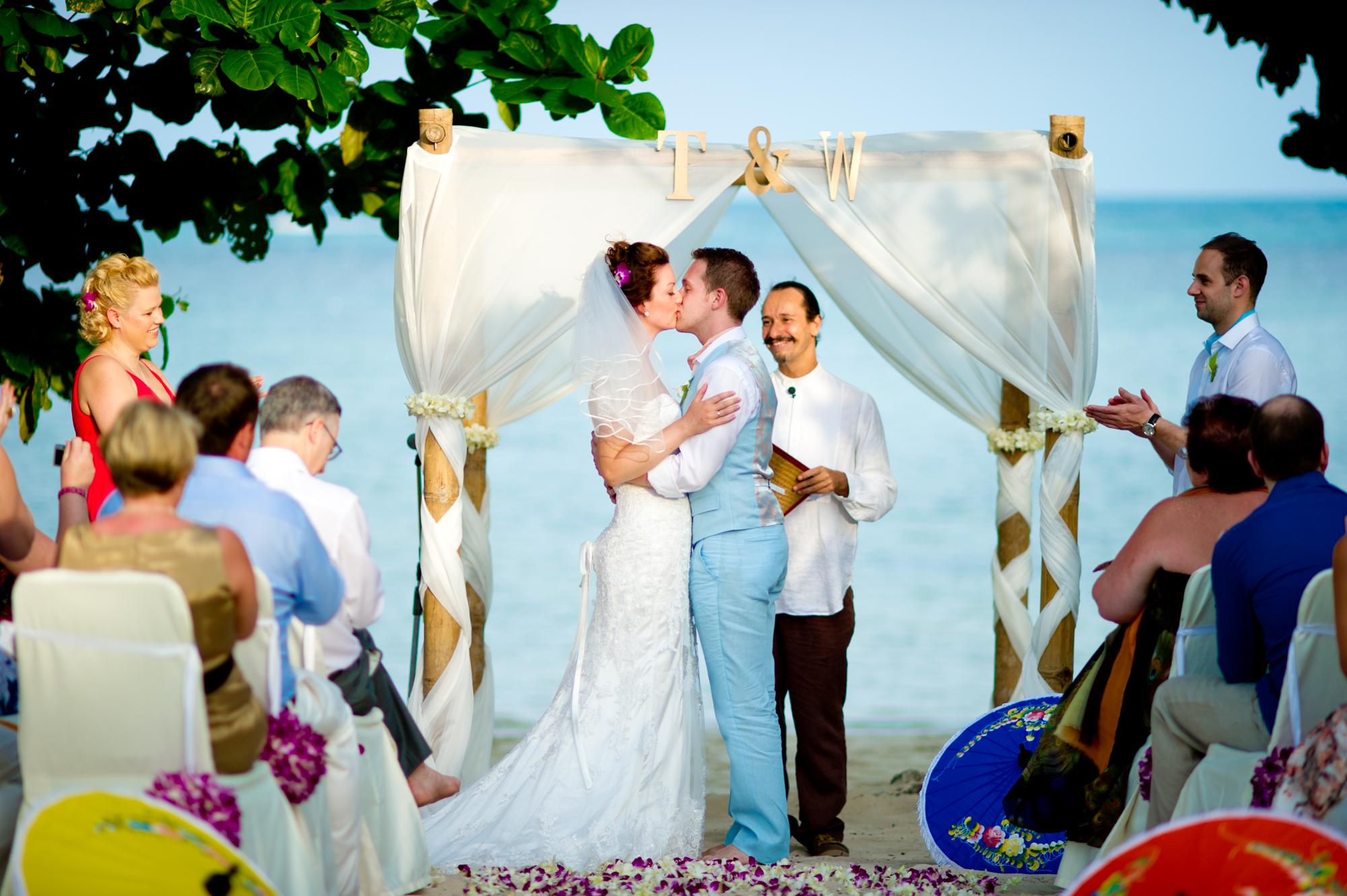 Amari Palm Reef Wedding Samui Thailand