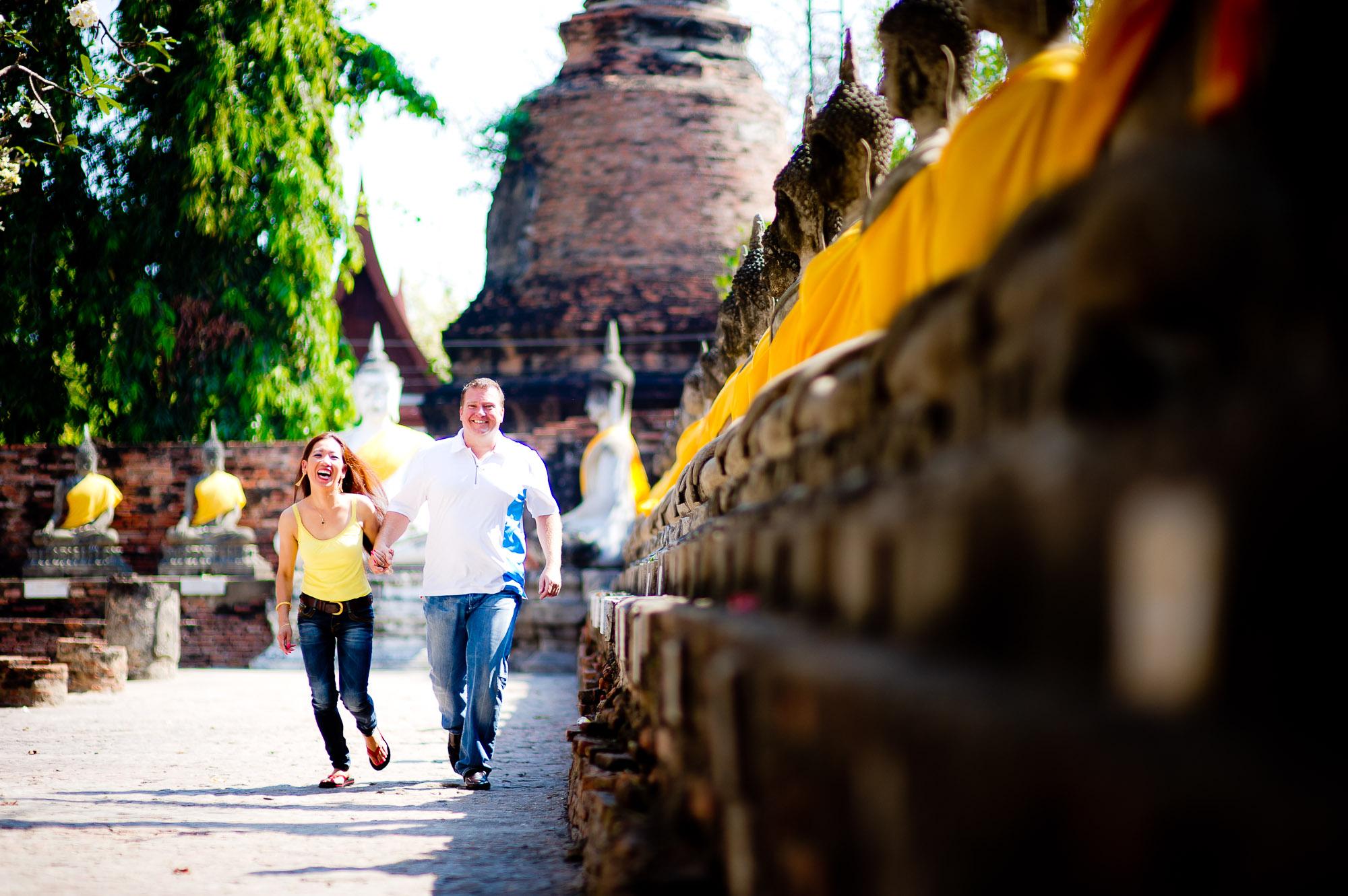 Pre-Wedding – Bangkok & Ayutthaya Thailand