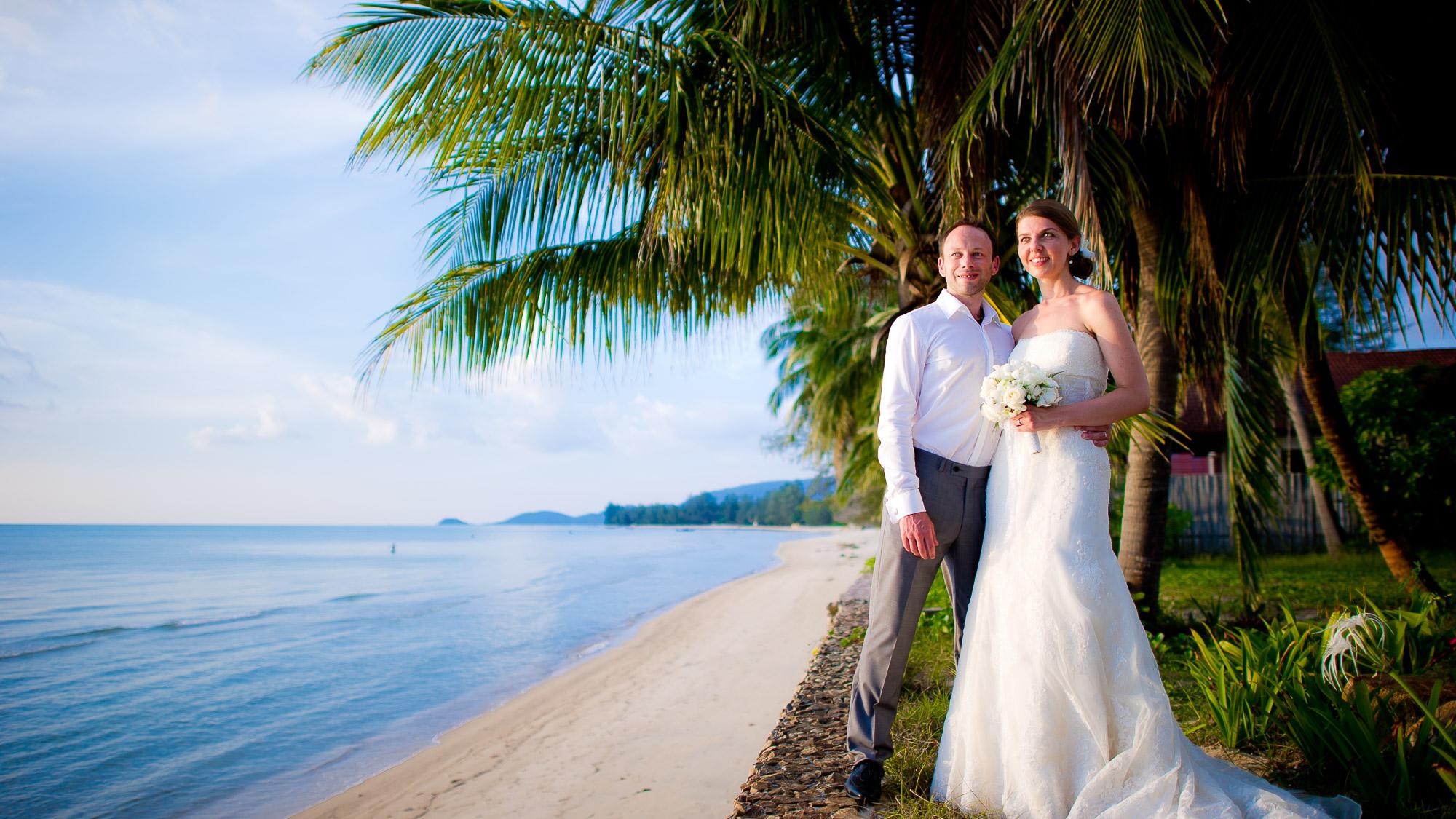 Dreams Villa Resort Koh Samui Wedding – Koh Samui Thailand – Yulia & David