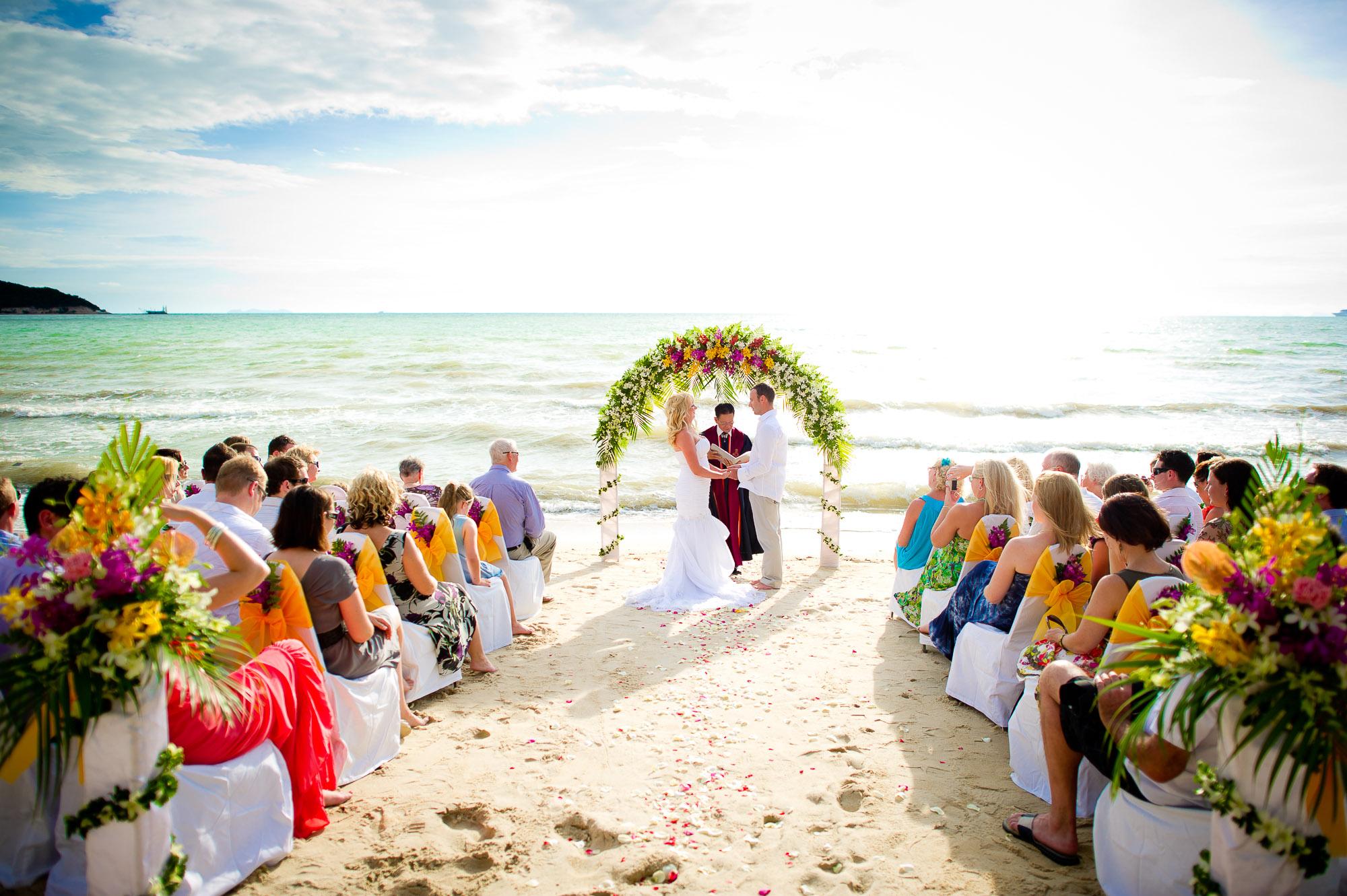 Koh Samui Wedding Photography | Lipa Lodge Beach Resort Wedding