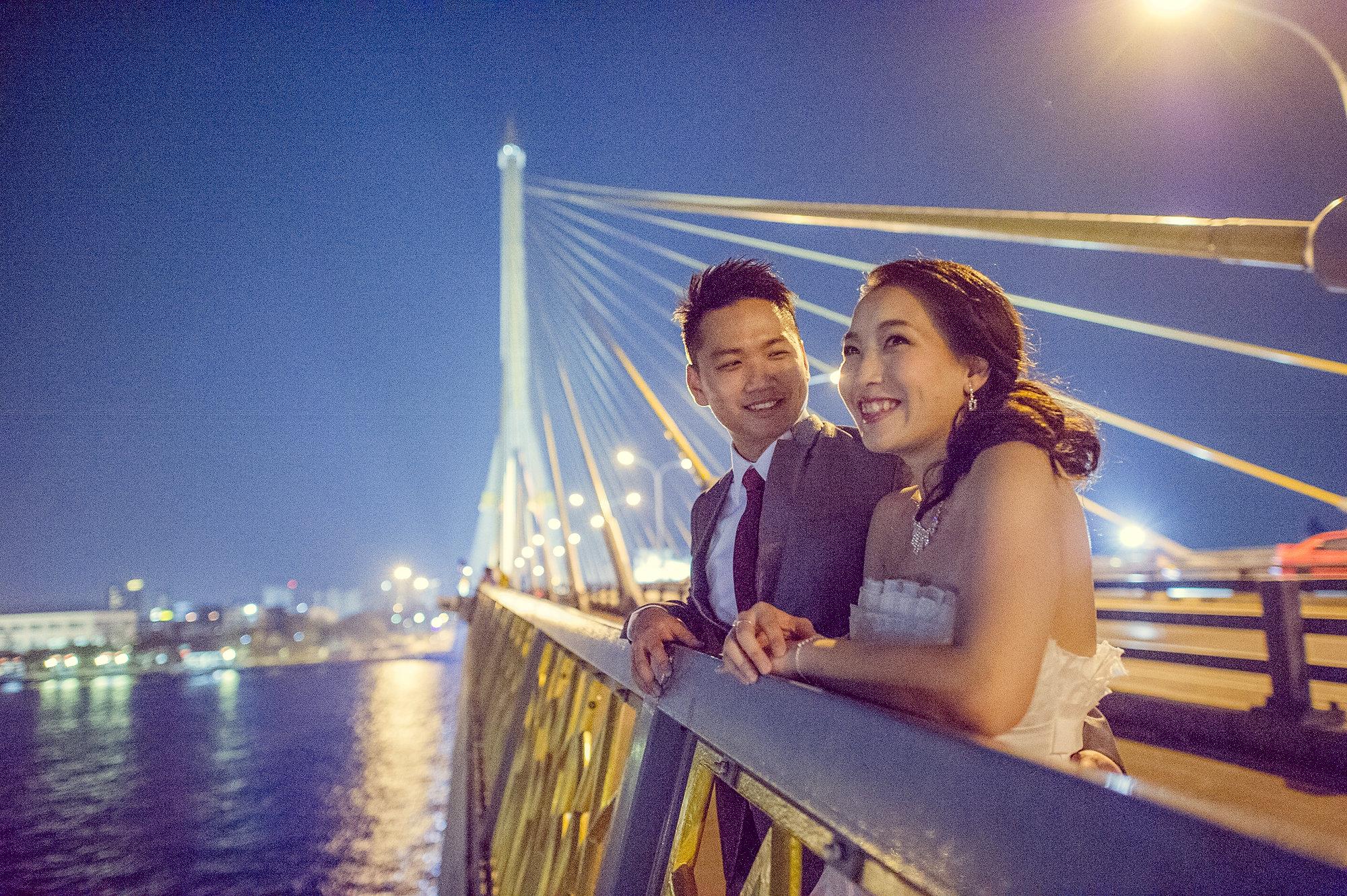 Pre-Wedding @ Rama VIII Bridge   Bangkok Wedding Photography