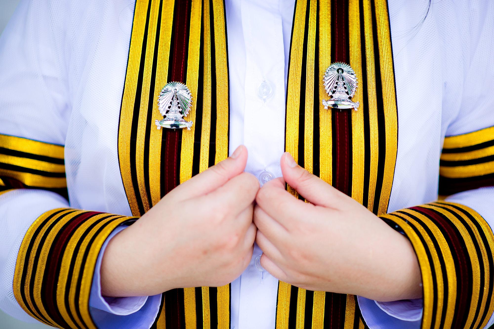 ภาพรับปริญญาวันซ้อมที่จุฬาลงกรณ์มหาวิทยาลัย | Neoy's Commencement Rehearsal Day at Chulalongkorn University - 47