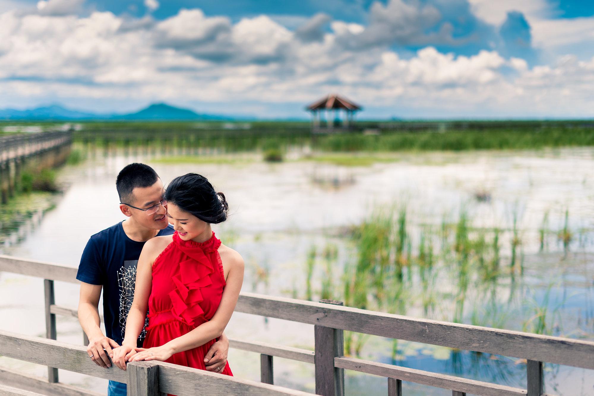 Hua Hin Wedding Photography | Khao Sam Roi Yod Pre-Wedding Photography