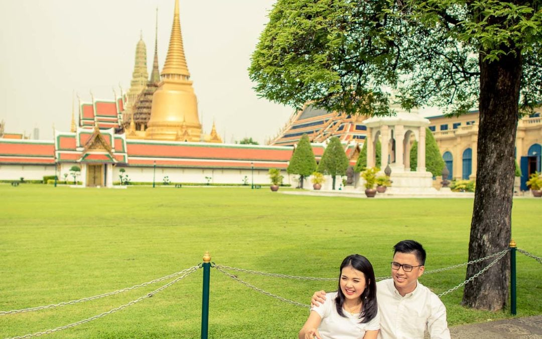 Photo of the Day | The Grand Palace Bangkok Thailand Wedding Photograph