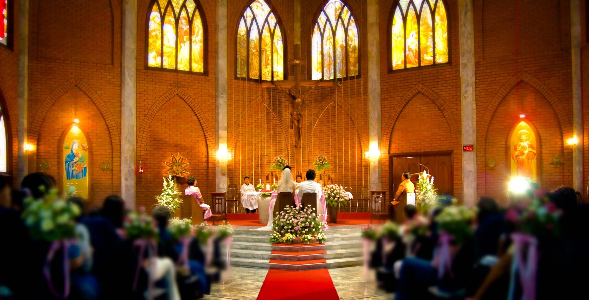 Thailand Wedding Photography   St. John's Church