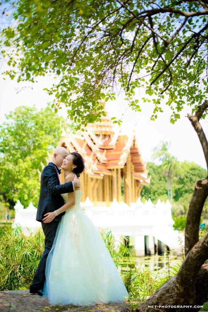 Thailand Bangkok Rama IX Park Engagement Session
