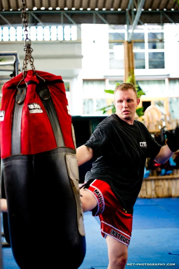 Thai Boxing Training at Master Toddy's Muay Thai