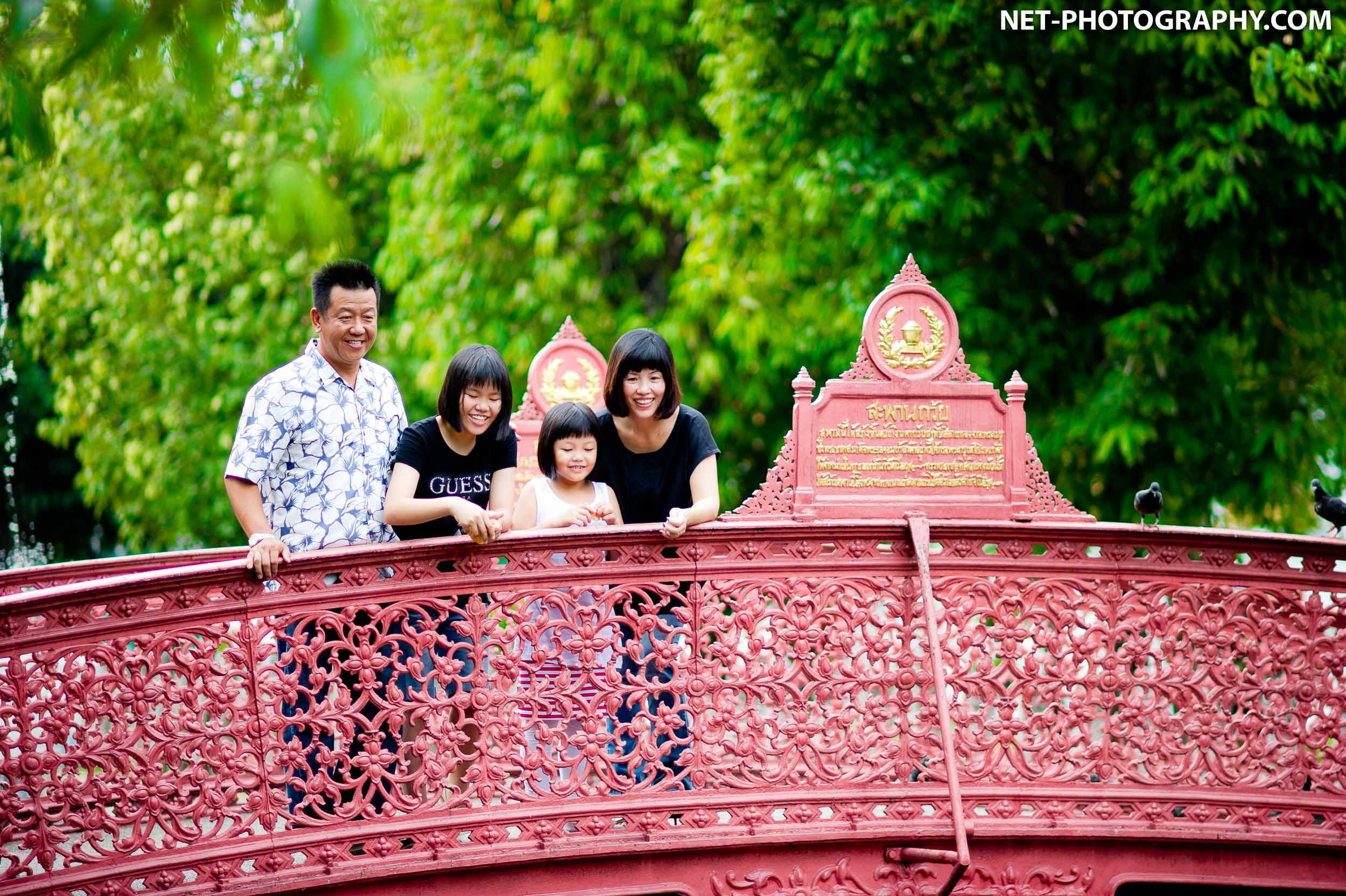 Family Photo Session in Bangkok
