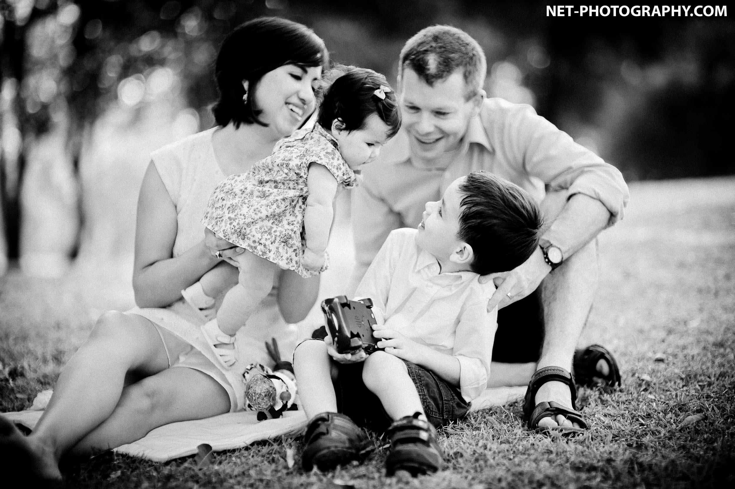 Evans' Family Portrait