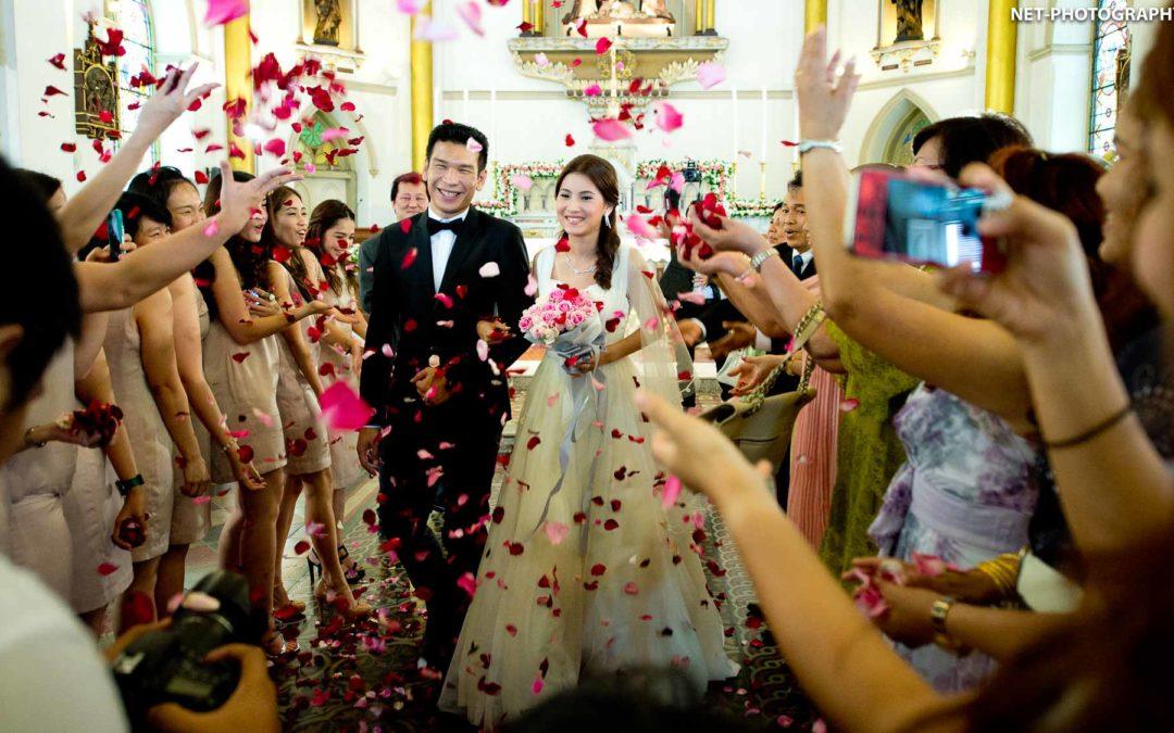 Holy Rosary Church Bangkok Wedding | Preview