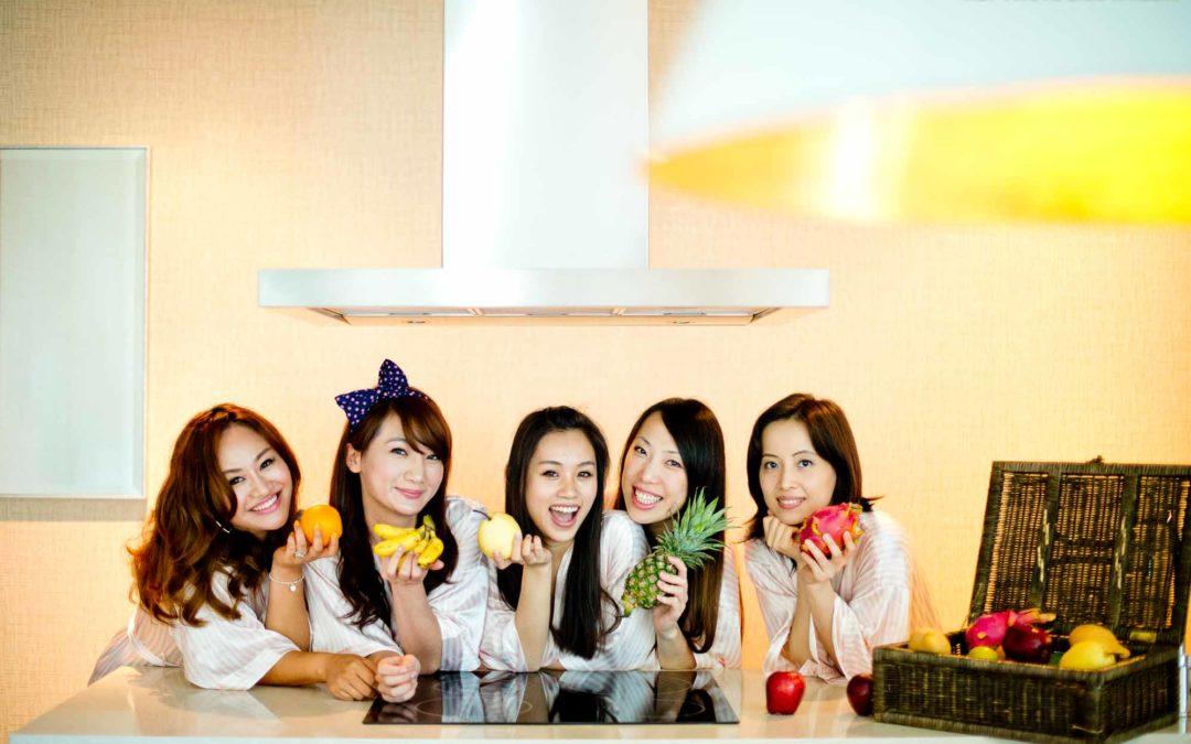 Ladies Portrait at Oriental Residence Bangkok Thailand