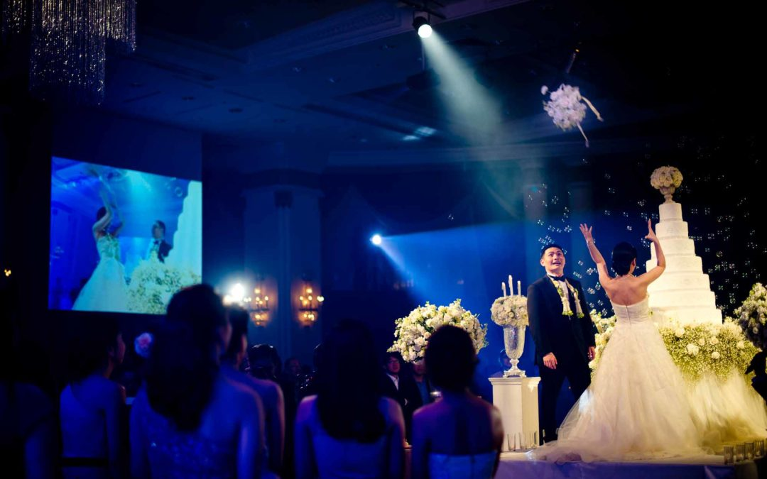 Bouquet Toss at The Athenee Hotel Bangkok | Preview